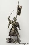 Рыцарь - Оловянный солдатик. Чернение. Высота солдатика 54 мм