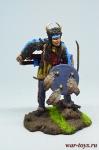 Индеец - Оловянный солдатик коллекционная роспись 54 мм. Все оловянные солдатики расписываются художником в ручную
