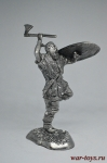Варвар - Не крашенный оловянный солдатик. Высота 54 мм.