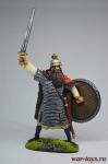 Варвар - Оловянный солдатик коллекционная роспись 54 мм. Все оловянные солдатики расписываются художником вручную