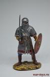 Викинг - Оловянный солдатик коллекционная роспись 54 мм. Все оловянные солдатики расписываются художником вручную