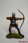 Лучник - Оловянный солдатик коллекционная роспись 54 мм. Все оловянные солдатики расписываются художником вручную