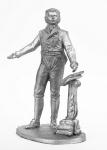 Моцарт - Не крашенный оловянный солдатик. Высота 54 мм.