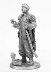 Атаман - Не крашенный оловянный солдатик. Высота 54 мм.