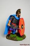 Варвар - Оловянный солдатик коллекционная роспись 54 мм. Все оловянные солдатики расписываются художником в ручную
