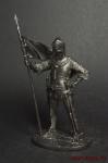 Рыцарь - Не крашенный оловянный солдатик. Высота 54 мм.
