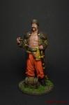 Атаман - Оловянный солдатик коллекционная роспись 54 мм. Все оловянные солдатики расписываются художником вручную