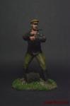 Чекист - Оловянный солдатик коллекционная роспись 54 мм. Все оловянные солдатики расписываются художником вручную