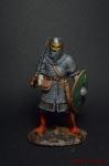 Викинг 8 в н.э. - Оловянный солдатик коллекционная роспись 54 мм. Все оловянные солдатики расписываются художником вручную