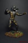 Хищник 90 мм - Оловянный солдатик коллекционная роспись 90 мм. Все оловянные солдатики расписываются художником вручную