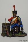 Трубач 9-го гусарского полка - Оловянный солдатик коллекционная роспись 54 мм. Все оловянные солдатики расписываются художником в ручную