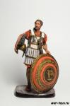 Филипп II, царь Македонии, 382-336 до н.э. - Оловянный солдатик коллекционная роспись 54 мм. Все оловянные солдатики расписываются художником в ручную