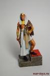 Рамсес II 1301 до н. э. - Оловянный солдатик коллекционная роспись 54 мм. Все оловянные солдатики расписываются художником вручную