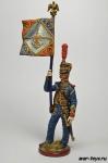 Франция. Знаменосец гвардейской морской пехоты Начало 19 века