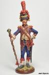 Франция. Тамбурмажор 3 гренадерского полка Старой гвардии 1805 г