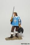 Франция. Арамис Конец 17 века - Оловянный солдатик коллекционная роспись 54 мм. Все оловянные солдатики расписываются художником в ручную