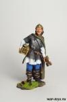 Викинги. Расхититель - Оловянный солдатик коллекционная роспись 54 мм. Все оловянные солдатики расписываются художником в ручную