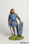 Франция. Рыцарь - Оловянный солдатик коллекционная роспись 54 мм. Все оловянные солдатики расписываются художником в ручную