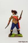 Франция. Мушкетер - Оловянный солдатик коллекционная роспись 54 мм. Все оловянные солдатики расписываются художником в ручную