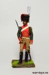 Франция. Конный егерь гвардии 1807 - Оловянный солдатик коллекционная роспись 54 мм. Все оловянные солдатики расписываются художником в ручную