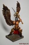 Фэнтези. Ангел Vanguard - Оловянный солдатик коллекционная роспись 54 мм. Все оловянные солдатики расписываются художником вручную