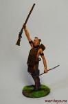 Индеецы. Воин Гурон - Оловянный солдатик коллекционная роспись 54 мм. Все оловянные солдатики расписываются художником в ручную