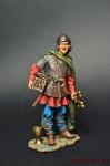 Викинги. Расхититель - Оловянный солдатик коллекционная роспись 54 мм. Все оловянные солдатики расписываются художником вручную