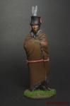 Индейцы. Знахарь - Оловянный солдатик коллекционная роспись 54 мм. Все оловянные солдатики расписываются художником вручную