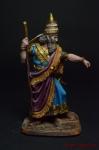 Ассирия. Царь Саргон 2 8 век до н.э. - Оловянный солдатик коллекционная роспись 54 мм. Все оловянные солдатики расписываются художником вручную