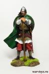 Викинг, 11 век 75 мм. - Оловянный солдатик коллекционная роспись 75 мм. Все оловянные солдатики расписываются художником в ручную