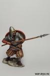 Викинг, 9-11 вв. 75 мм - Оловянный солдатик коллекционная роспись 75 мм. Все оловянные солдатики расписываются художником в ручную
