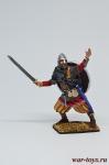 Викинг, 9-11 вв. - Оловянный солдатик коллекционная роспись 54 мм. Все оловянные солдатики расписываются художником в ручную