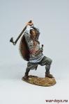 Викинг, 9-10 вв. - Оловянный солдатик коллекционная роспись 54 мм. Все оловянные солдатики расписываются художником в ручную