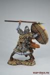 Викинг, 9-11 вв. - Оловянный солдатик коллекционная роспись 54 мм. Все оловянные солдатики расписываются художником вручную