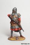 Русь. Дружинник 14 век - Оловянный солдатик коллекционная роспись 54 мм. Все оловянные солдатики расписываются художником в ручную