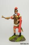 Трибун, I в. до н.э. - Оловянный солдатик коллекционная роспись 54 мм. Все оловянные солдатики расписываются художником в ручную