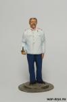 Сталин И.В. - Оловянный солдатик коллекционная роспись 54 мм. Все оловянные солдатики расписываются художником в ручную