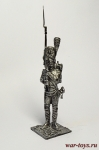Унтер-оф. Пеших гренадер Стар. Имп. гвардии. Франция 1812 - Оловянный солдатик. Чернение. Высота солдатика 54 мм