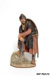 Норманн 11 век - Оловянный солдатик коллекционная роспись 54 мм. Все оловянные солдатики расписываются художником в ручную