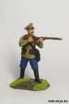Рядовой 195 пехотного полка - Оловянный солдатик коллекционная роспись 54 мм. Все оловянные солдатики расписываются художником в ручную