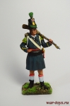 Стрелок 1 батальона испанского полка Валенсия 1808 год