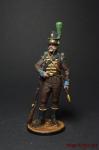 Рядовой 1-го батальона егерей (касадорес). Португалия, 1808-09 - Оловянный солдатик коллекционная роспись 54 мм. Все оловянные солдатики расписываются художником вручную