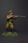 Рядовой 195 пехотного полка - Оловянный солдатик коллекционная роспись 54 мм. Все оловянные солдатики расписываются художником вручную