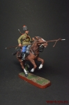 Рядовой 17 Донского казачьего полка - Оловянный солдатик, роспись 54 мм. Все оловянные солдатики расписываются художником вручную