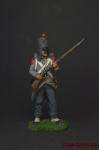 Стрелок 1 полка легкой пехоты 1809 год - Оловянный солдатик коллекционная роспись 54 мм. Все оловянные солдатики расписываются художником вручную