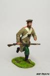 Рядовой 23 Украинского егерского полка, 1854 г - Оловянный солдатик коллекционная роспись 54 мм. Все оловянные солдатики расписываются художником в ручную