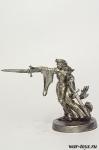 Фэнтези 28 мм - Оловянный солдатик. Чернение. Высота солдатика 28 мм