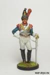 Кирасир 3-го кирасирского полка. Франция, 1812 г. - Оловянный солдатик коллекционная роспись 54 мм. Все оловянные солдатики расписываются художником в ручную