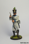 Фузилер 4 пехотного полка. Хох унд Дойчмейстер. Австрия 1809-14