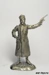 Буденый - Не крашенный оловянный солдатик. Высота 54 мм.